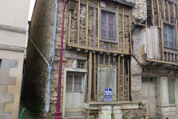 Centre historique de Vitre